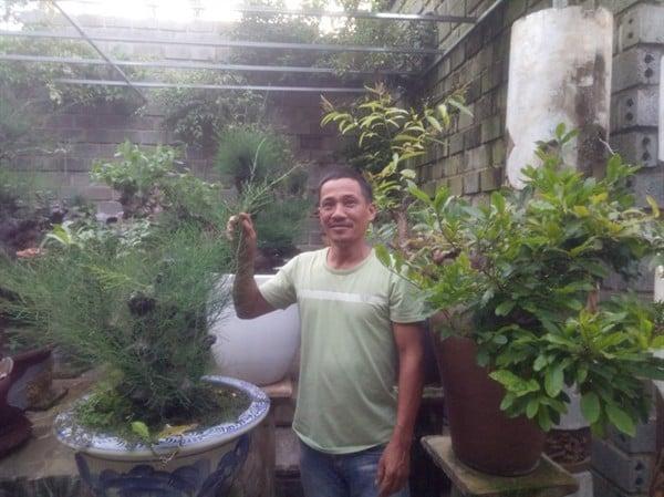 Mô hình sản xuất đất sạch kết hợp trồng cây cảnh