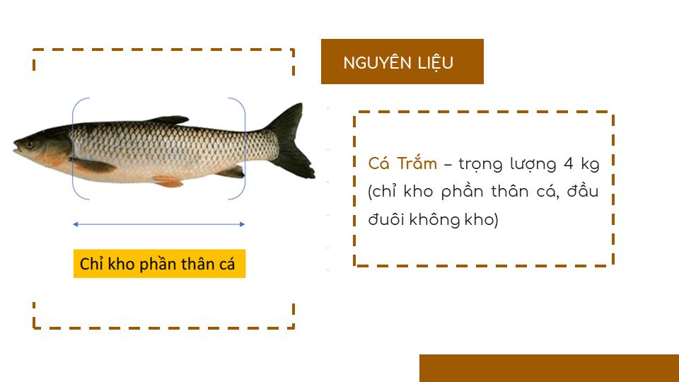 Cá Trắm Kho Vũ Đại - Đặc Sản Hà Nam