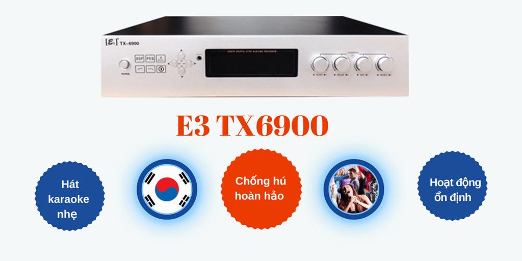 Amply karaoke cao cấp - E3 TX6900