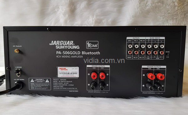 Jarguar PA-506N Gold Bluetooth (Komi)