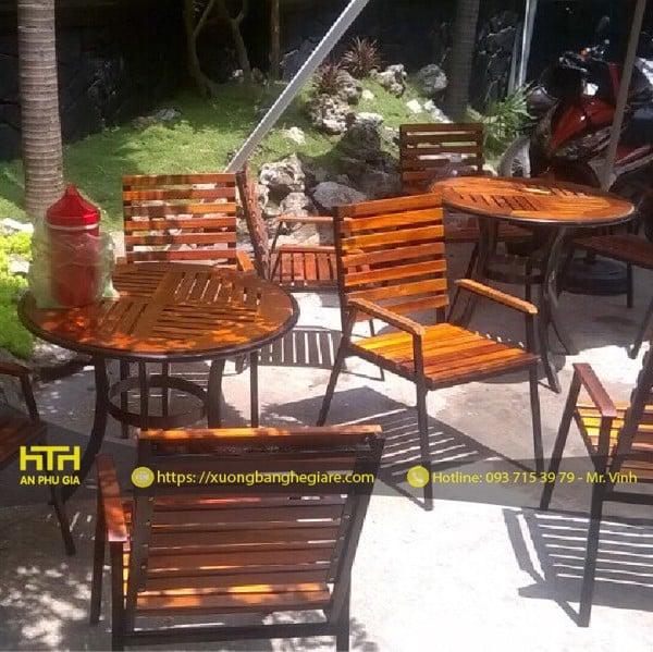 Bàn ghế cafe CFT001