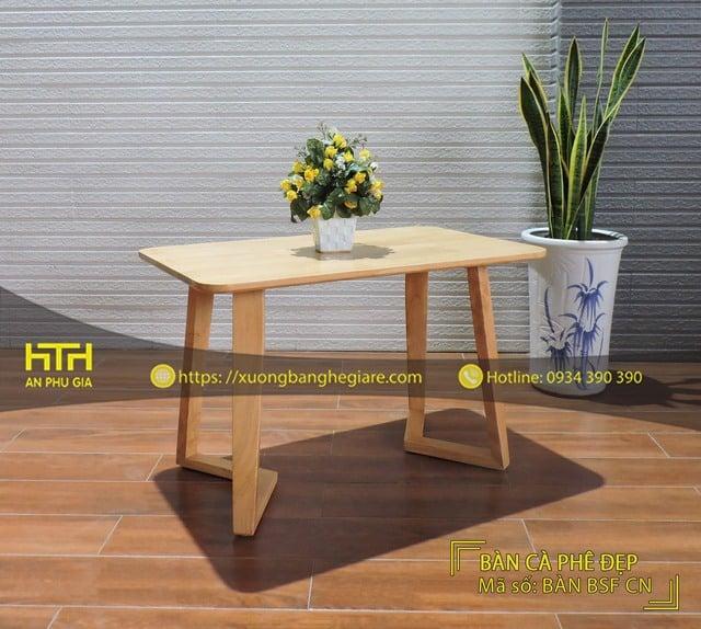 Bộ bàn ghế cafe Genny chất lượng