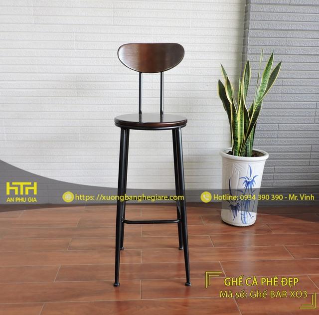 ghế bar cafe BAR XO3 hiện đại