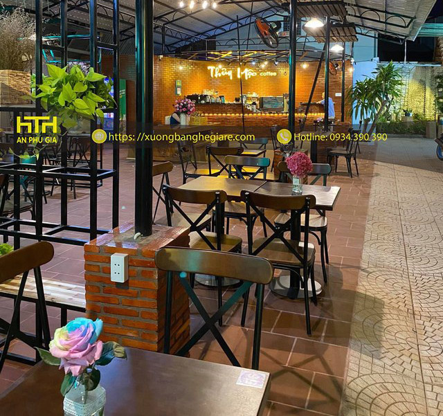 Ghế cafe HX thiết kế đẹp, tinh tế