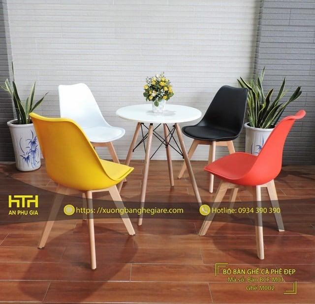 Ghế cafe M002 phong cách mới