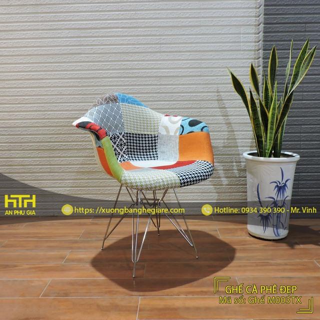 Ghế cafe M003TX độ bền cao