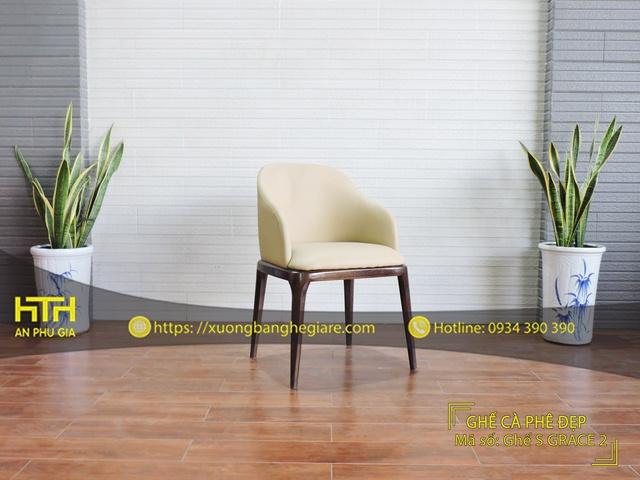Ghế gỗ cafe S Grace 2 giá rẻ