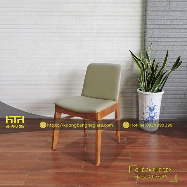 Ghế gỗ nhà hàng Oba chất lượng cao