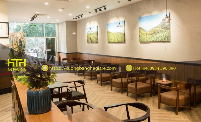 Ghế sofa cafe PL01 tinh tế
