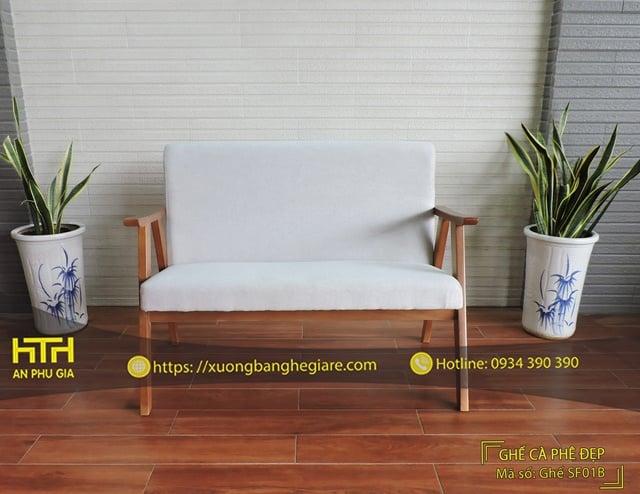 Ghế sofa cafe SF01B lôi cuốn