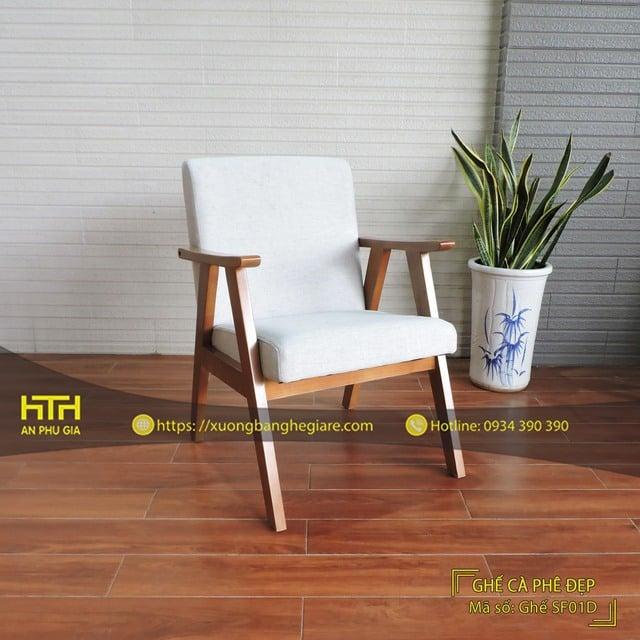 Ghế sofa cafe SF01D lôi cuốn