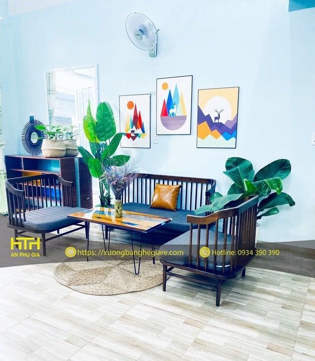 Bộ bàn ghế sofa Cube rẻ đẹp bền