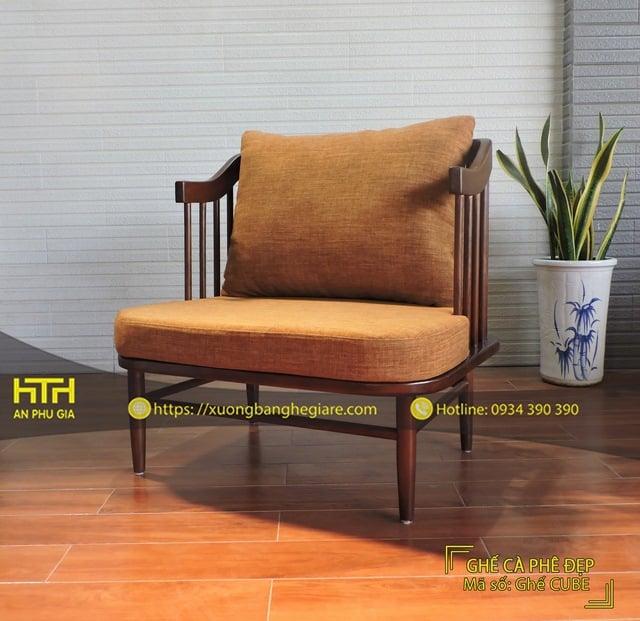 Bộ bàn ghế sofa cafe Cube hiện đại