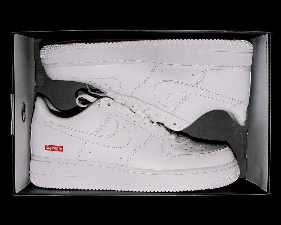 Supreme Nike Air Force 1 Low White