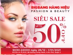 SIÊU SALE CỰC ĐỈNH HAPPY NEW YEAR – HAPPY NEW YOU – HAPPY SIÊU SALE LÊN ĐẾN 50%++