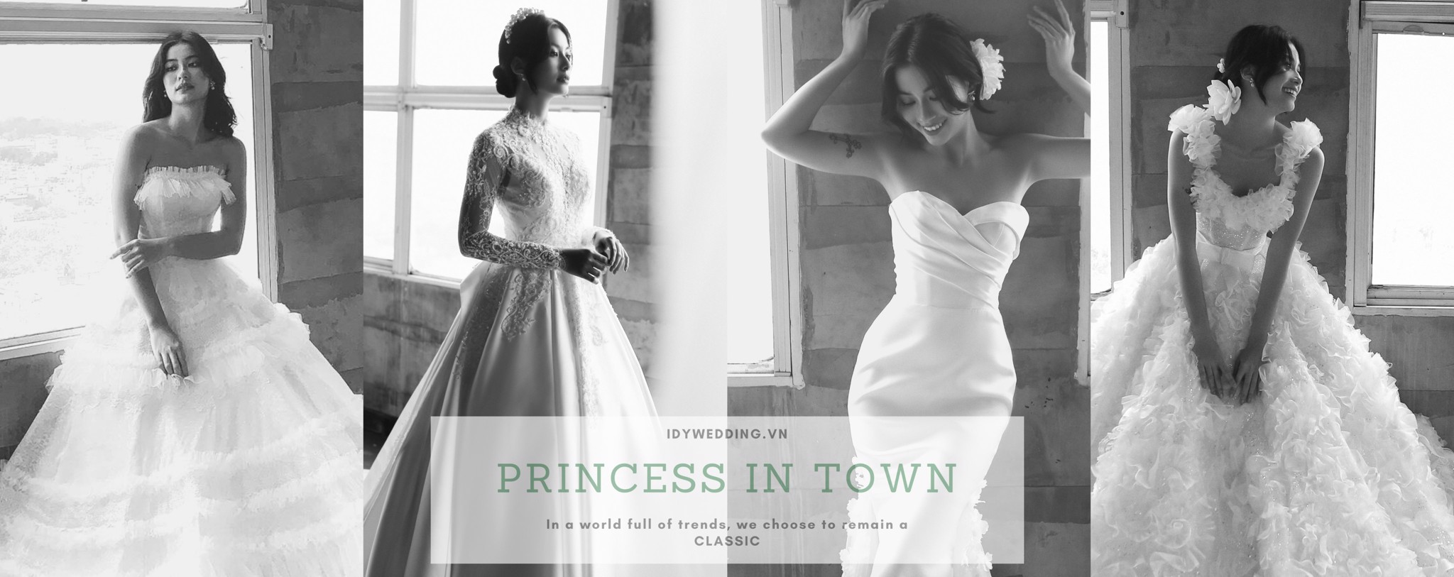 IDY WEDDING BRIDAL DRESS COLLECTION OCTOBER 2020: PRINCESS IN TOWN – ONCE UPON A DREAM