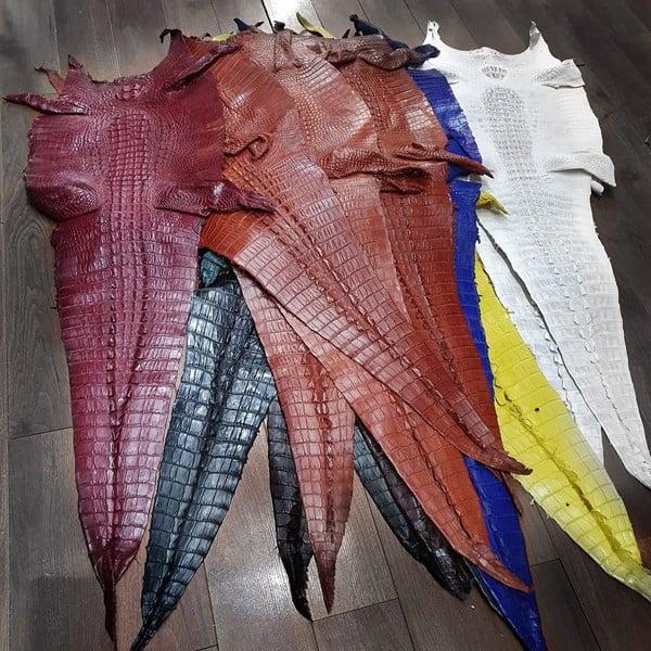 da cá sấu nguyên con bao nhiêu tiền một tấm 1