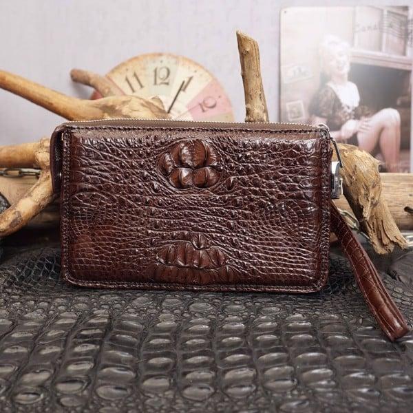 bán buôn sỉ đồ da cá sấu ví dài cầm tay