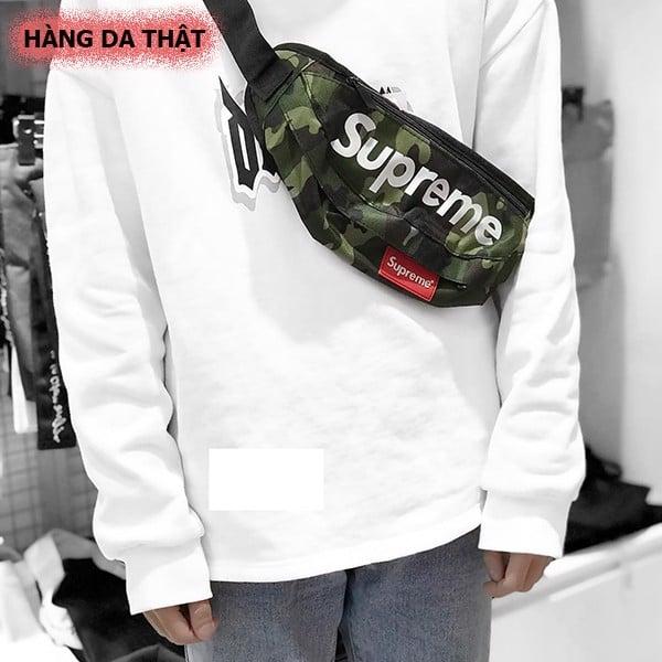 Cách đeo túi đeo chéo Supreme