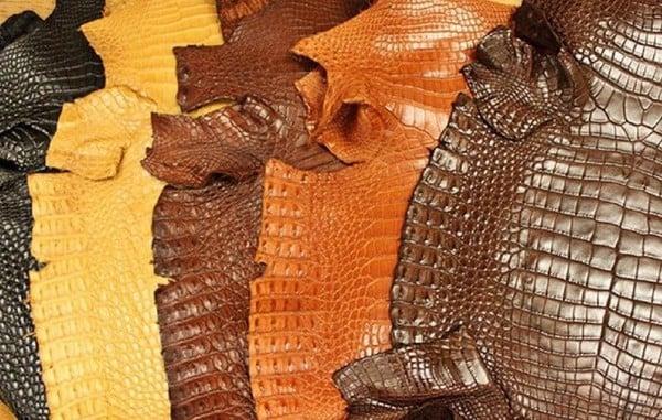 Ví được làm bằng da cá sấu độc đẹp tự nhiên