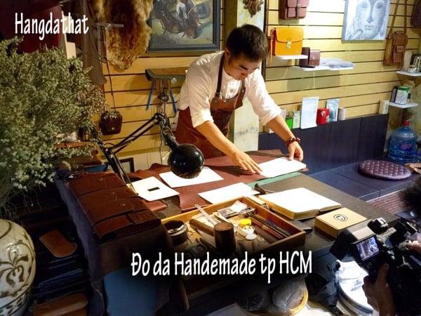 Đồ da handmade tphcm
