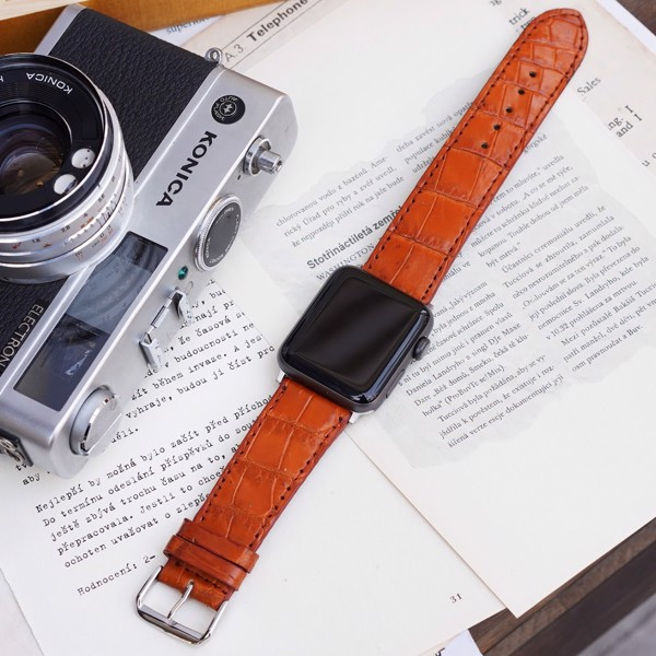 những mẫu dây da đồng hồ Apple Watch đẹp nhất 2