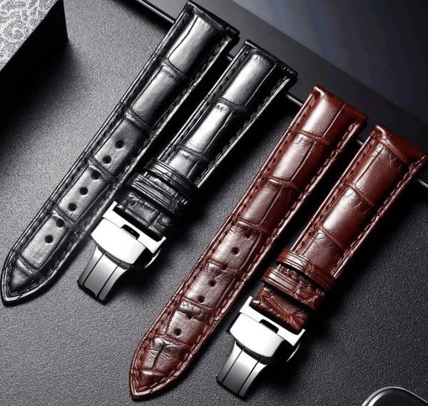 Dây đồng hồ làm bằng da cá sấu có nhiều tính năng nổi bật
