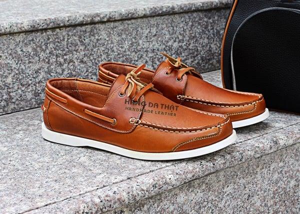 Giày da nam công sở - da bò thật xịn giá tốt nhất HN HCM