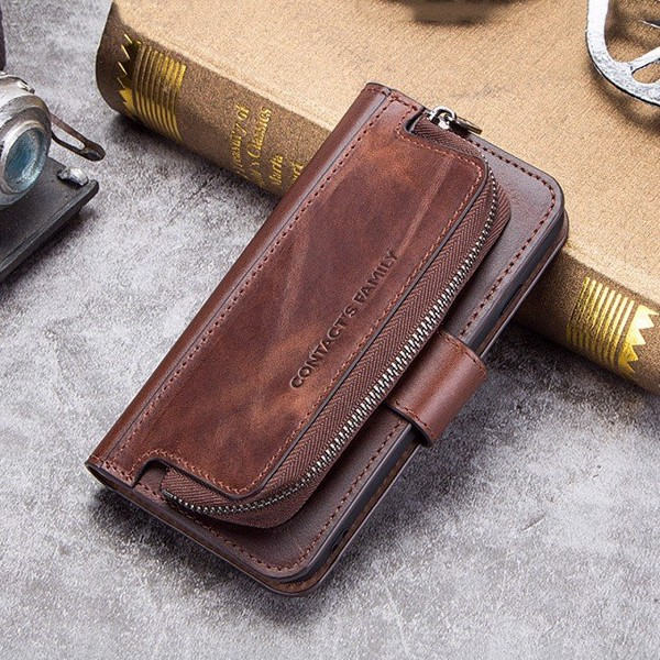 Ốp lưng da kiêm ví đựng thẻ tiền đa năng