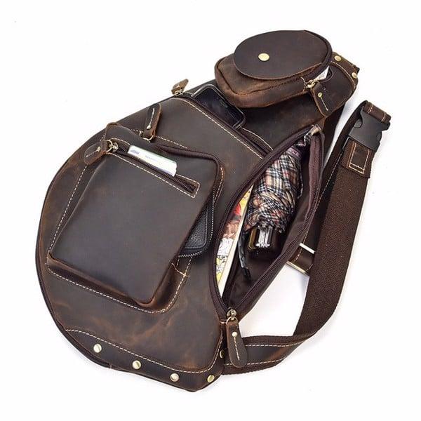 Túi bao tử đeo chéo đựng được nhiều vật dụng cần thiết khi ra ngoài