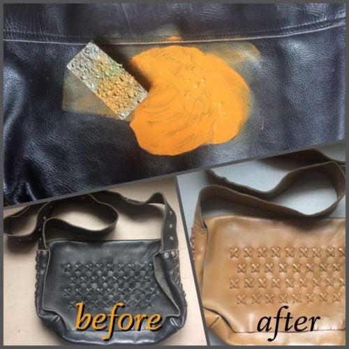 Xử lý sản phẩm da khi bị xuống màu