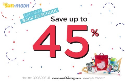 Back to school – Save up to 45%