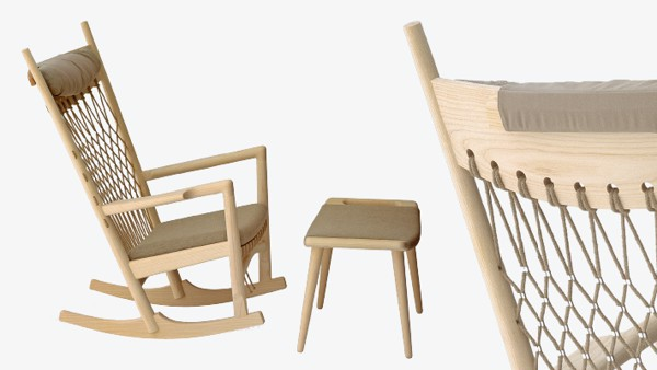 Ghế PP124 Rocking chair - oka