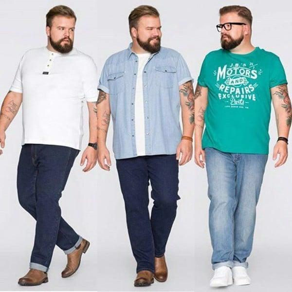 Những mẹo hay để chọn áo thun cho người mập