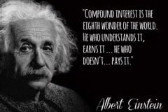 Compound interest rate - the 8th wonder of the world