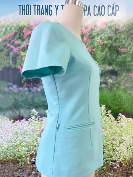 Bộ điều dưỡng nữ mẫu thiết kế