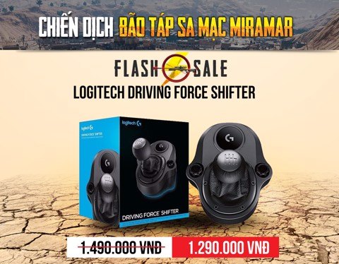 MIRAMAR LOGITECH FORCE SHIFTER