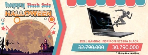 LAPTOP GAMING DELL INSPIRON N7588A BLACK