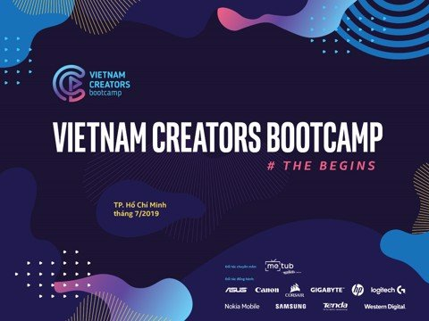 Event Vietnam Creators Bootcamp – The Begins