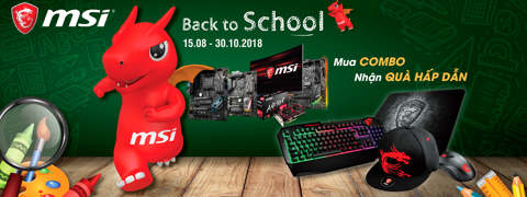 MSI - BACK TO SCHOOL