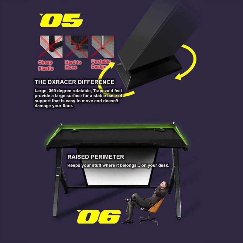BÀN DXRACER GAMING DESK GD/1000/NE