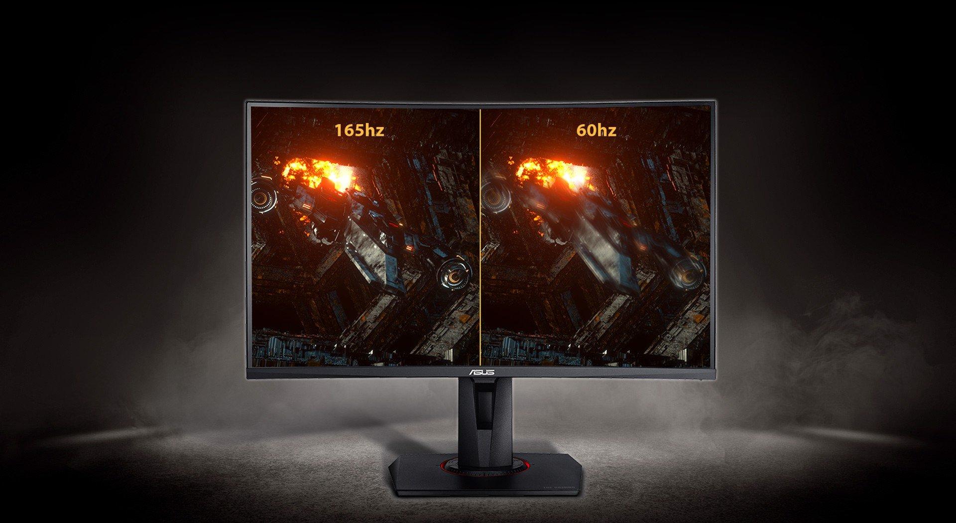 Kết quả hình ảnh cho Màn hình máy tính Asus TUF GAMING VG27VQ Cong