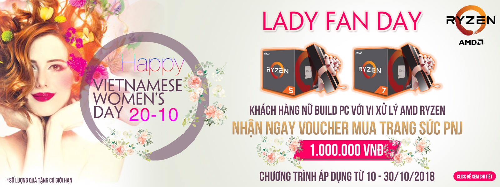 LADY FAN DAY - AMD