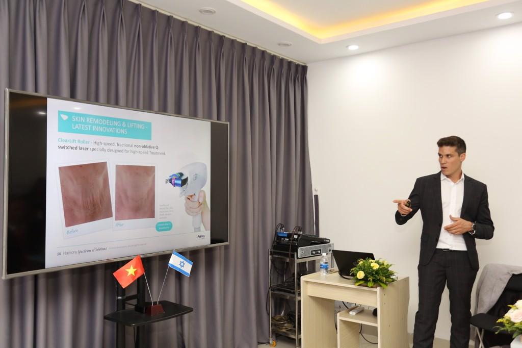 Lien anh clinic beauty - ACG - Alma - lễ chuyển giao công nghệ