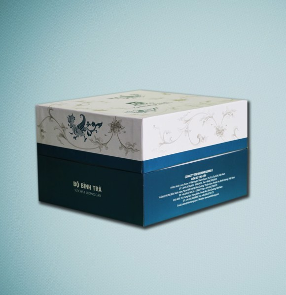 In bao bì hộp quà tặng tại Công ty Cát Tường Pack