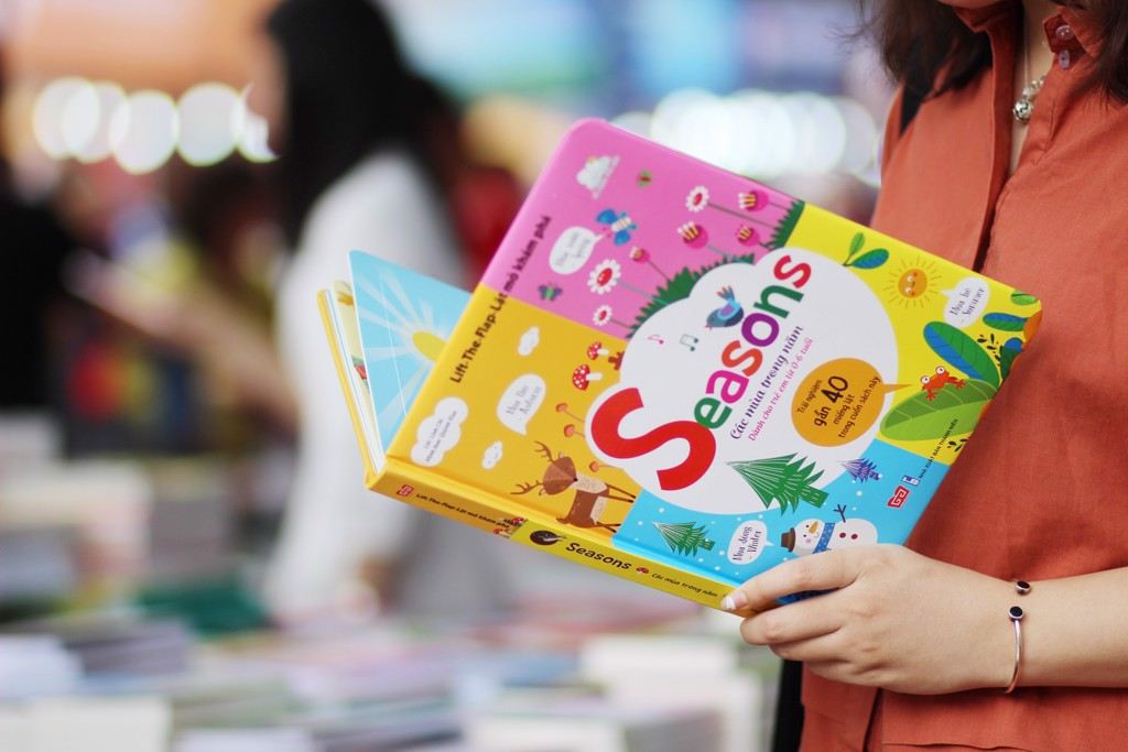 First interactive books for children who cannot read