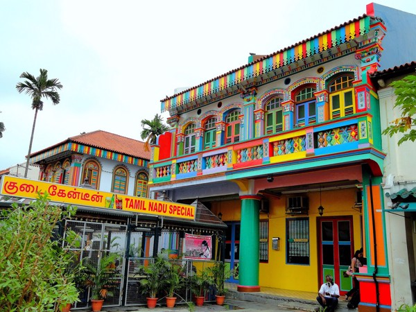 Khu Little India - Singapore