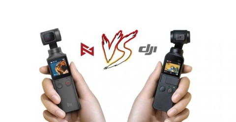 So sánh Xiaomi Fimi Palm vs DJI Osmo Pocket