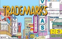 Trademark is very easy and understandable by comics