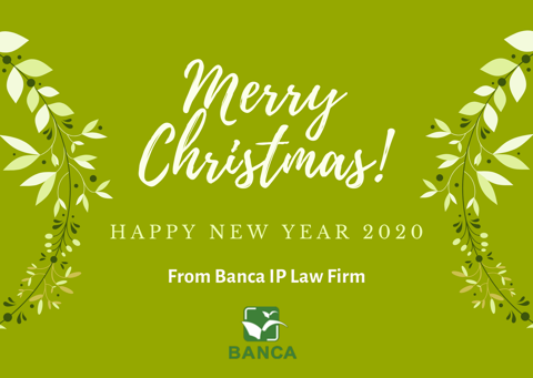 Season's Greetings from BANCA IP LAW FIRM